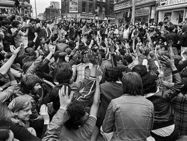 Anti racist protests in Brick Lane area 1978.