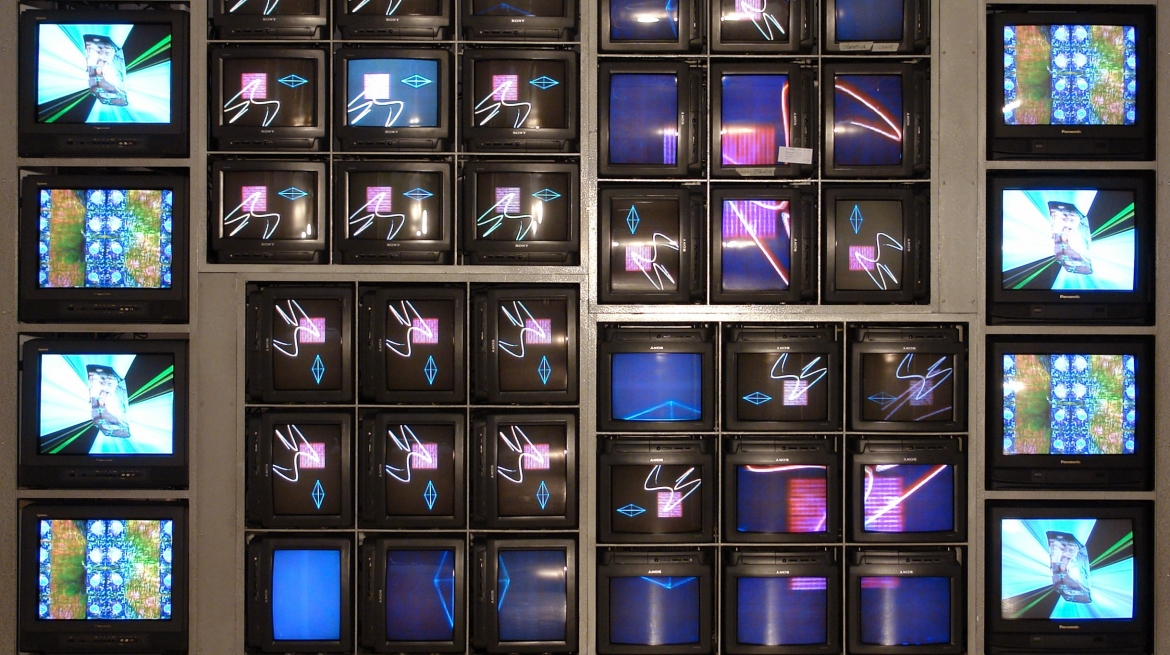Nam June Paik, Internet Dream, 1994