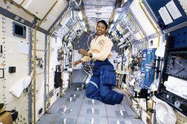 Astronaut_Mae_Jemison_Working_in_Spacelab-J_(7544385084)