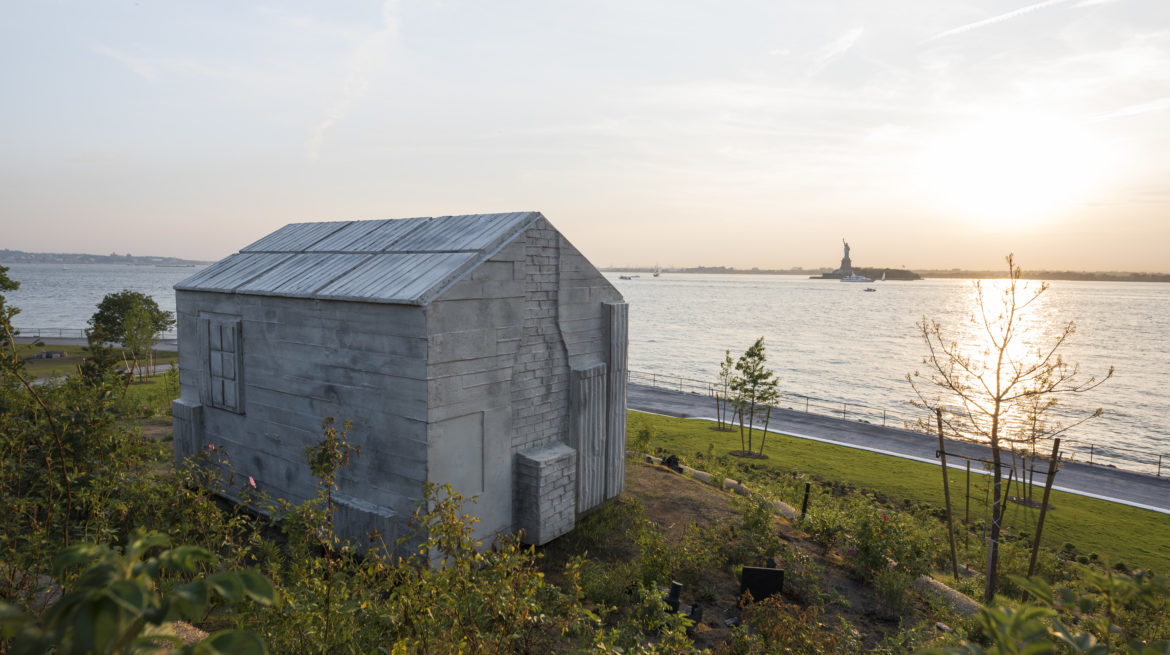 Rachel Whiteread, Governors Island Project, 2013, Mixed media, Courtesy the artist, Photo courtesy Timothy Schenck