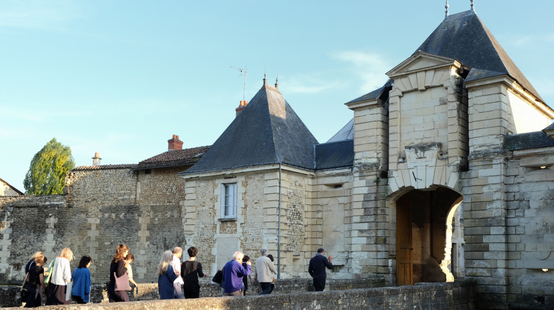 Richelieu Biennale_Richelieu_North_gate Benoît_Faure