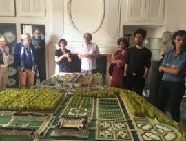 Richelieu Biennale_Richelieu_Town_Model Catherine_du_Toit