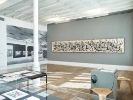 Staging Jackson Pollock, 2018. Courtesy Whitechapel Gallery. Photo Stephen White