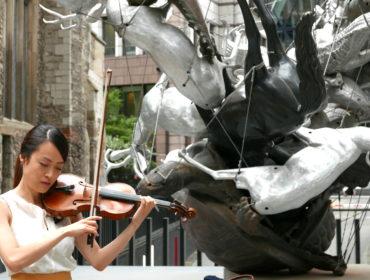 Midori Komachi_ Solo Violin Performance