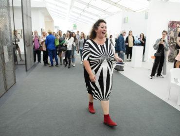 Frieze Art Fair 2018. London. .Photo by Linda Nylind.