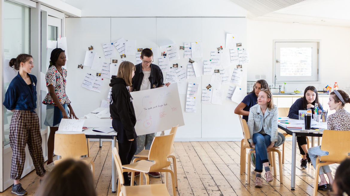Credit 5 - Contemporary Art Boot Camp Creative Careers Workshop, Whitechapel Gallery, 2019, photo Rob Harris