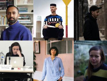 Film London Jarman Award 2019 - portraits composite design