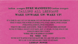 dyke manifesto