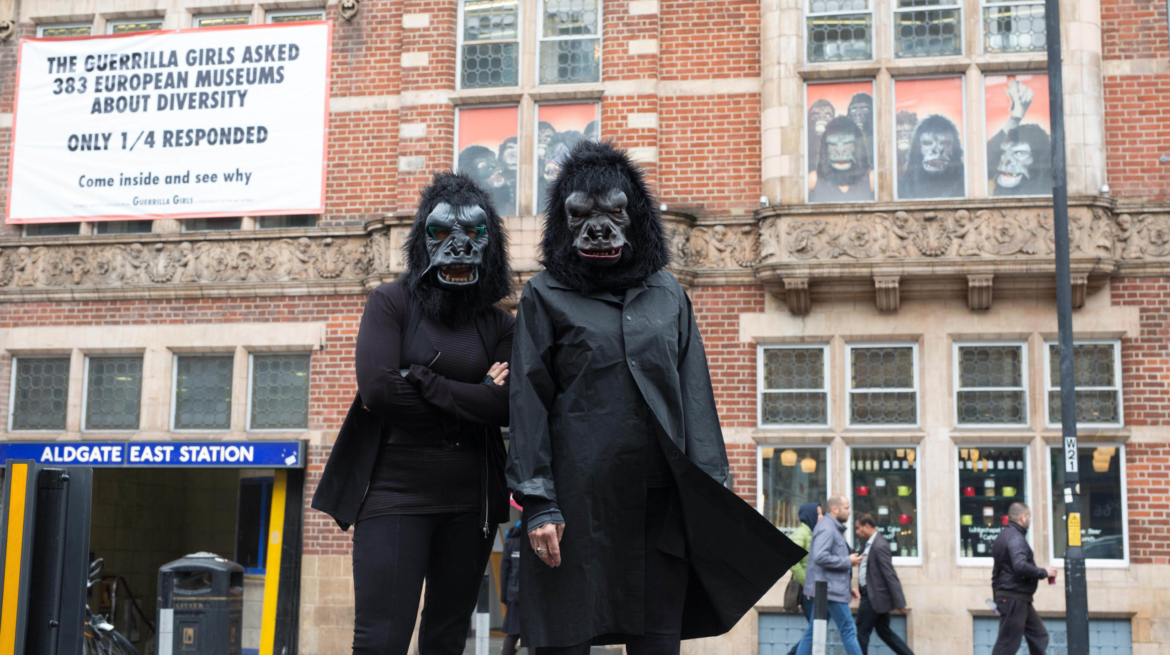 Whitechapel Gallery Guerrilla Girls Commission Is it even worse in Europe (2016) c