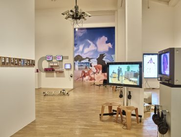 Image 6 Whitechapel Gallery. Electronic Superhighway 2016 – 1966 Installation view Gallery 1 (6)