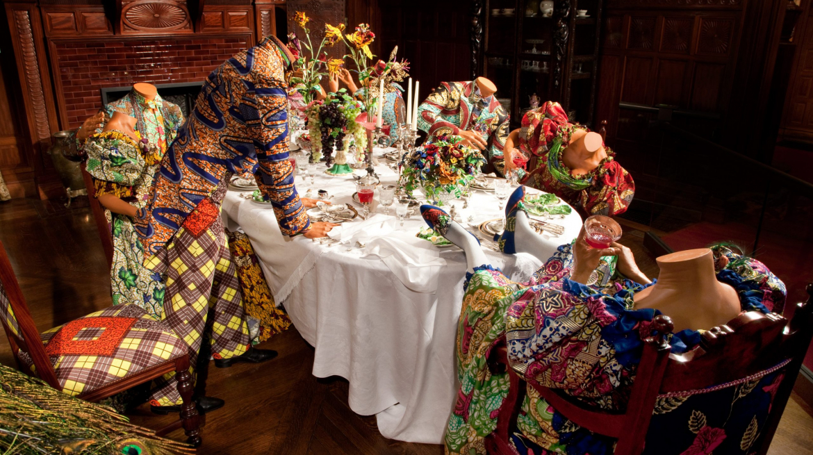 Party Time by Yinka Shonibare