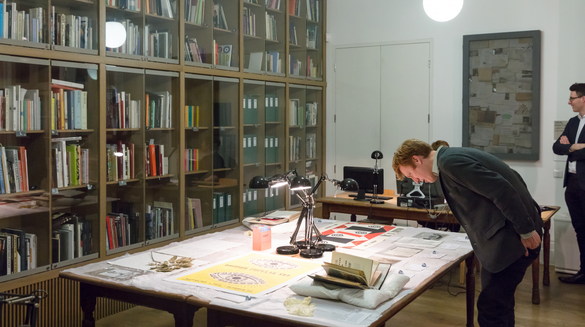 Exploring archival materials in the Foyle Reading Room