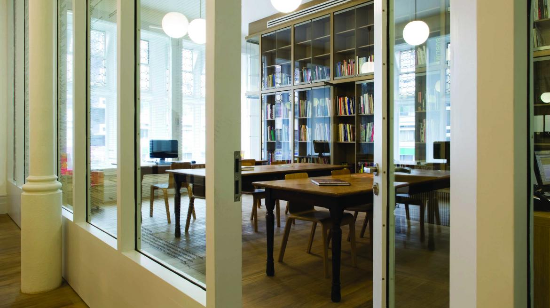 Whitechapel Gallery Reading Room. Photograph by Gavin Jackson